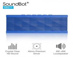 SoundBot SB571 Bluetooth Speakers (Blue)