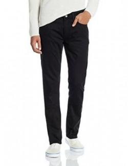 United Colors of Benetton Men's Skinny Fit Jeans (8903975174191_16A4FJ057148I_32W x 32L_Black-901)