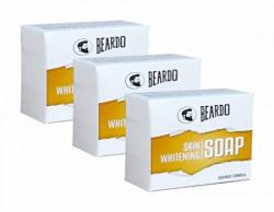 BEARDO White Soap - 100g (Set Of 3)