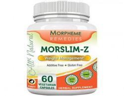 Morpheme Morslim-Z 60 VegCaps (1 Bottle) For Weight Management