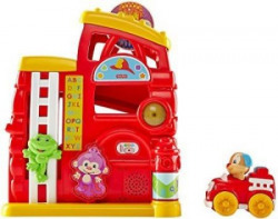 United Pacific Designs Fisher-Price Laugh & Learn Monkey's Smart Stages Firehouse