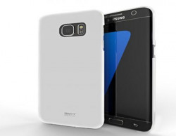 MTT Back Cover Slim Fit Case for Samsung Galaxy S6 Edge Plus - White