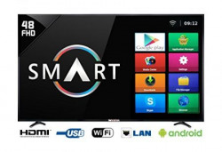 Weston 122 cm (48 inches) WEL-5100 Full HD LED Smart TV (Black)