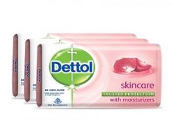 Dettol Soap Value Pack, Skincare - (3 Pieces X 125 g) Save Rs 5