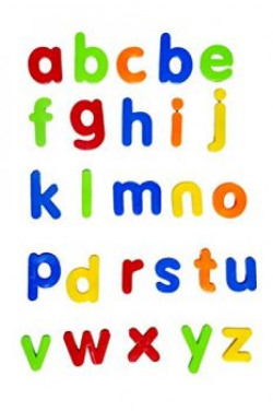 Sunshine Gifting Magnetic Learning ABC, Small Letters, Educational Toy for kids