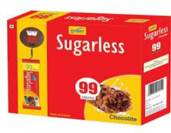RiteBite Sugarless Choco Lite 99 Calories Diet Bar