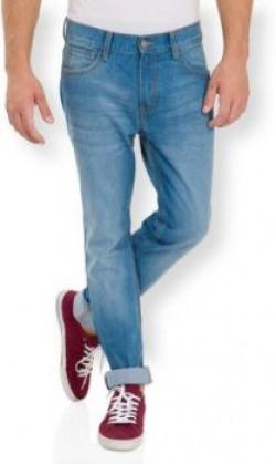 Highlander Slim Men's Dark Blue Jeans