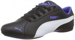 Puma Girl's Janine Dance 2 Jr Black, White and Dazzling Blue Sneakers - 3 UK/India (19 EU)