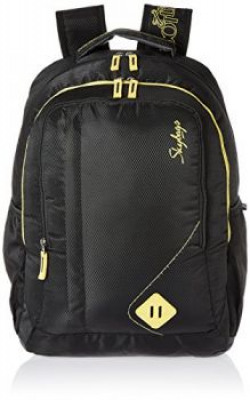Skybags Viber 29.5 Ltrs Black Casual Backpack (BPVIBFS1BLK)