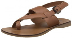 UCB Men's Brown Leather Sandals and Floaters - 10 UK/India (44.5 EU)