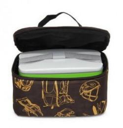 Wildcraft Nylon Brown Tiffin Bag