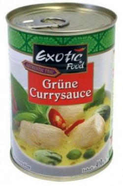 Exotic Curry, Green Curry, 400ml