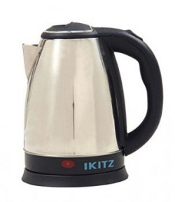 Home Elite Shiny Steel 1.5-Litre Electric Kettle (Silver)
