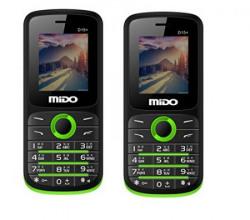Mido D15+ Basic Phone Combo (Black Green)