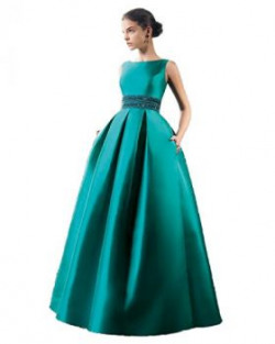Royal Export Women's Gown (Blue tafeta gown__Blue_Free Size)