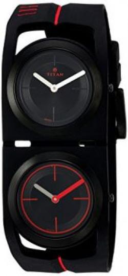 Titan Analog Black Dial Men's Watch - 1653NP02