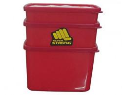 MasterCook 3PCS Plastic Food Container (model 211_213)