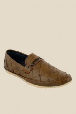 Shoe Sense Brown Casual Loafers