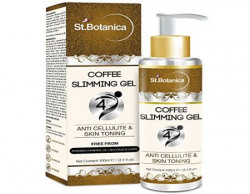 St.Botanica 4D Coffee Slimming Cream - AntiCellulite & Skin Toning 100ml - Stomach, Hips, Thighs, Arms, Body