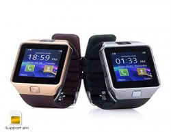 HTC Desire 816G (Octa Core) Compatible and Certified Smart Watch with SIM, 16GB memory card support for Android or use as Mobile with Wireless Bluetooth Connectivity ( Get Mobile Charging Cable worth Rs 239 FREE & 180 days Replacement Warranty )