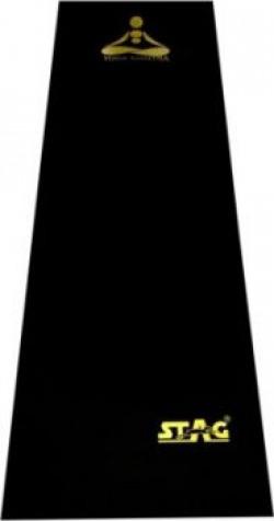 Stag MANTRA Black, golden 6 mm Yoga Mat
