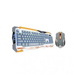 Dragon War GKM-001 Sencaic Professional Gaming Keyboard & Mouse Combo Set - White