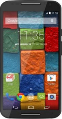 Moto X (2nd Generation) (Black Leather, 16 GB)