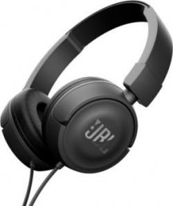 JBL T450BLACK Stereo headphones Wired Headphones