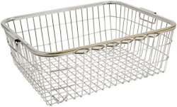 Parasnath Heavy Stainless Steel Large Dish Drainer, 60 cm x 48 cm x 18 cm,- (Lifetime Warranty*MADE IN INDIA)