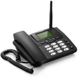 Huawei ETS3125i SIM enabled Cordless with FM Radio & 4-6 Hrs Backup Cordless Landline Phone