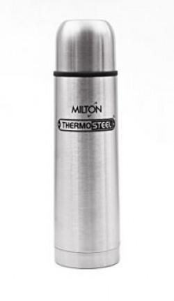 Milton Thermosteel Flip Lid Flask, 1000ml, Silver (EC-TMS-FIS-0058_Silver)