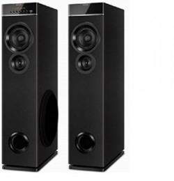 Philips SPT-6660 2.0 Tower Speaker (Black)