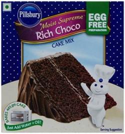 Pillsbury Moist Supreme Egg Free Cake Mix, Rich Choco, 270g