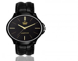 LimeStone Spy Pro Round Casual Analog Synthetic Leather Strap Black Dial Men's / Boy's Watch