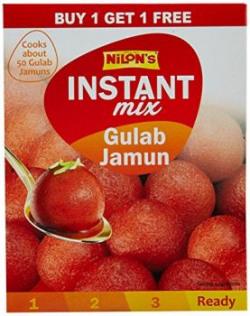 Nilons Gulab Jamun Instant Mix, 200g (Buy 1 Get 1 Free)