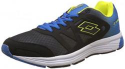 Lotto Men's Venture Iii Black and Royal Blue Running Shoes - 11 UK/India (45 EU)
