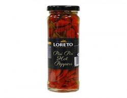 Loreto Piri Piri Hot Pepper In Brine, 142g