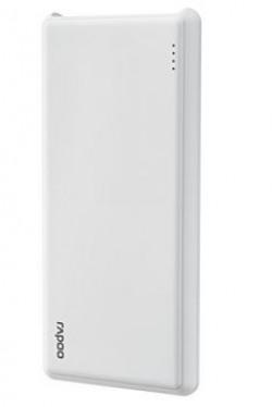 Rapoo 10000MAH Power BankHigh Quality Polymer Battery [White Colour]