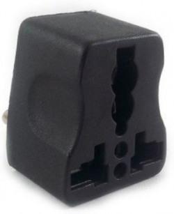Productmine Traveller 3 pin Multiplug Universal Conversion Plug Worldwide Adaptor