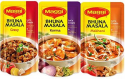 Maggi Bhuna Masala Assorted Pack, 65g (Pack of 3)