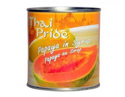 Thai Pride Papaya In Syrup, 565g