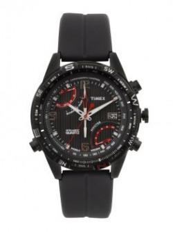 Timex Men Black Dial Intelligent Quartz Compass Watch