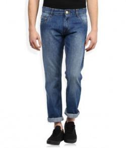 John Player Blue Medium Wash Slim Fit Jeans