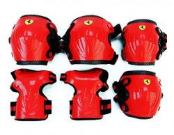 Ferrari FAP16 Skate Protector Set, Large Pack of 6 (Red)