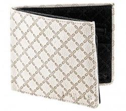 Laurels Viking White Men's Wallet (VK-1501)