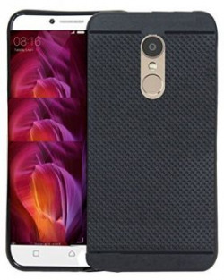 Chevron 360* Protection Premium Dotted Designed Soft Rubberised Back Case Cover Redmi Note 4 [Classic Dotted Series] - Black