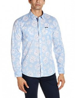 Pepe Jeans Men's Casual Shirt (8903872750146_PM302397_X-Large_Sky)