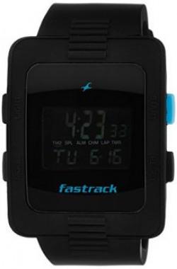 Fastrack Casual Digital Black Dial Men's Watch - 38009PP01J