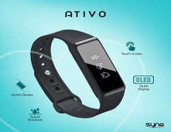 Synq's Ativo - Fitness Band with OLED Display and Touch
