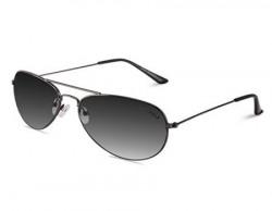 Laurels Marshal UV Protected Aviator Sunglasses - Black Lens - Ls-Mrsl-020202